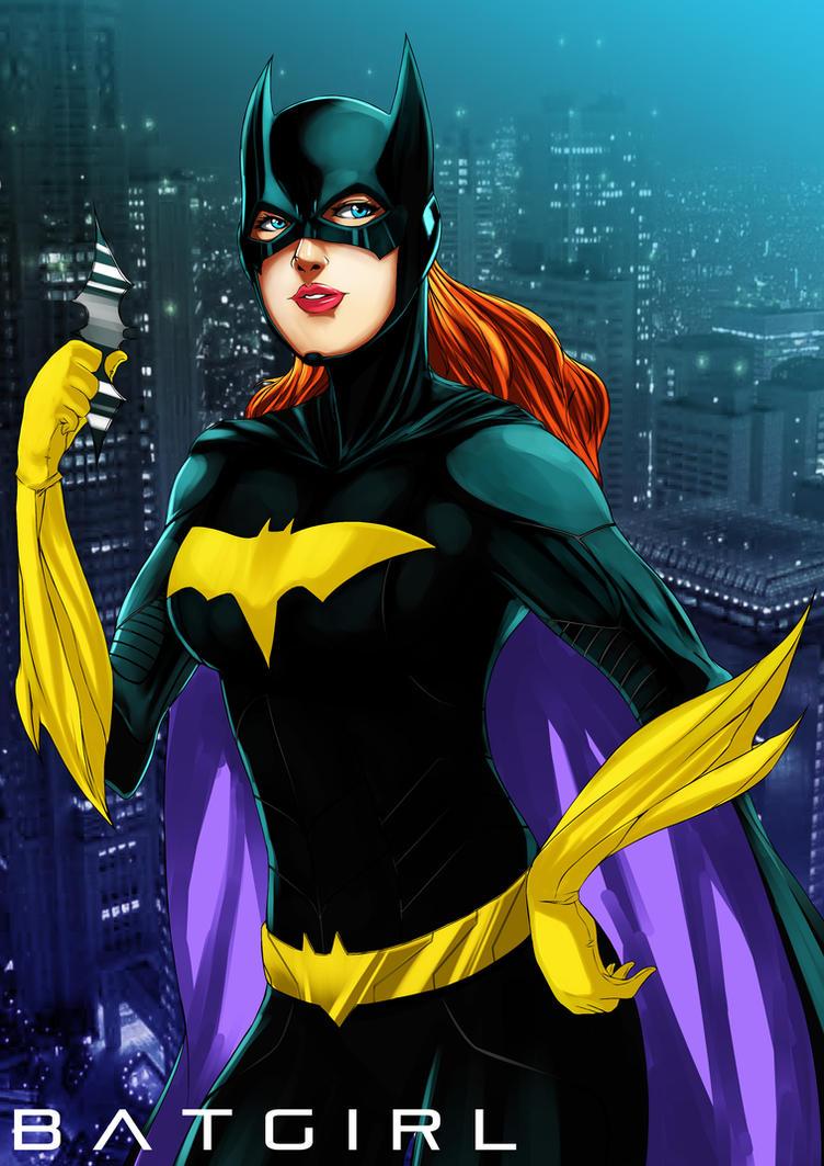 Batgirl by kevzter