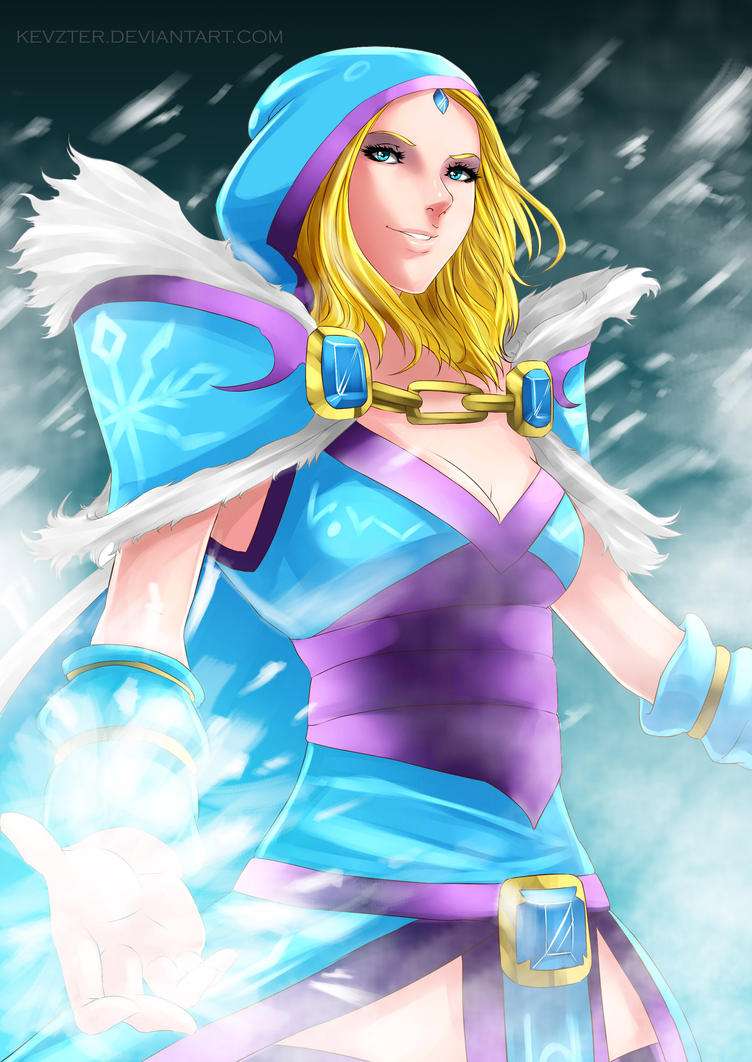 Crystal Maiden by kevzter