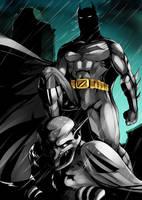 Batman by kevzter