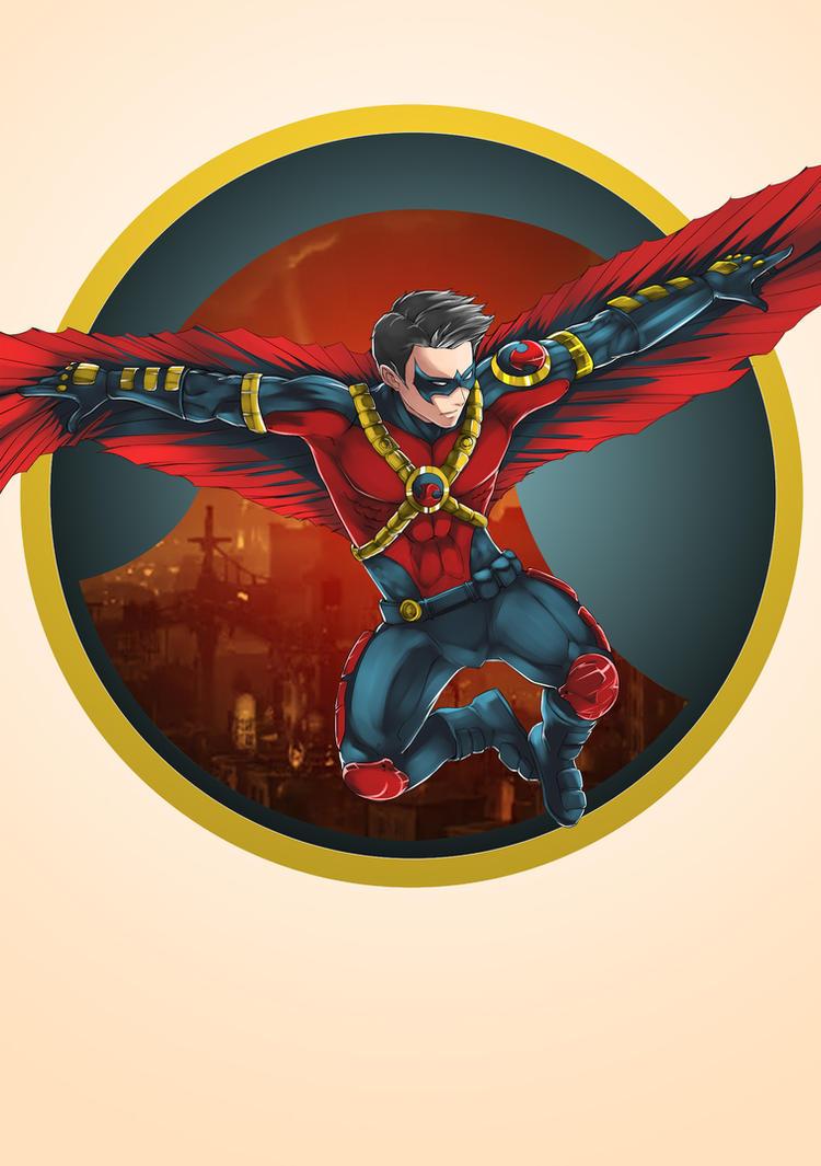 Red Robin by kevzter