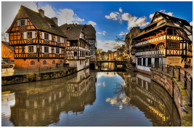 Strasbourg Maison des Tanneurs by Satourne