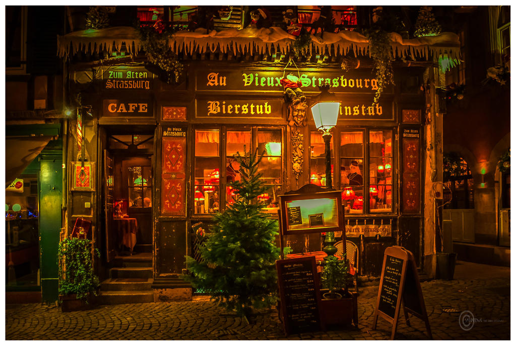 Au Vieux Strasbourg by Satourne