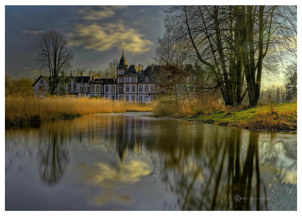 Chateau de Pourtales by Satourne