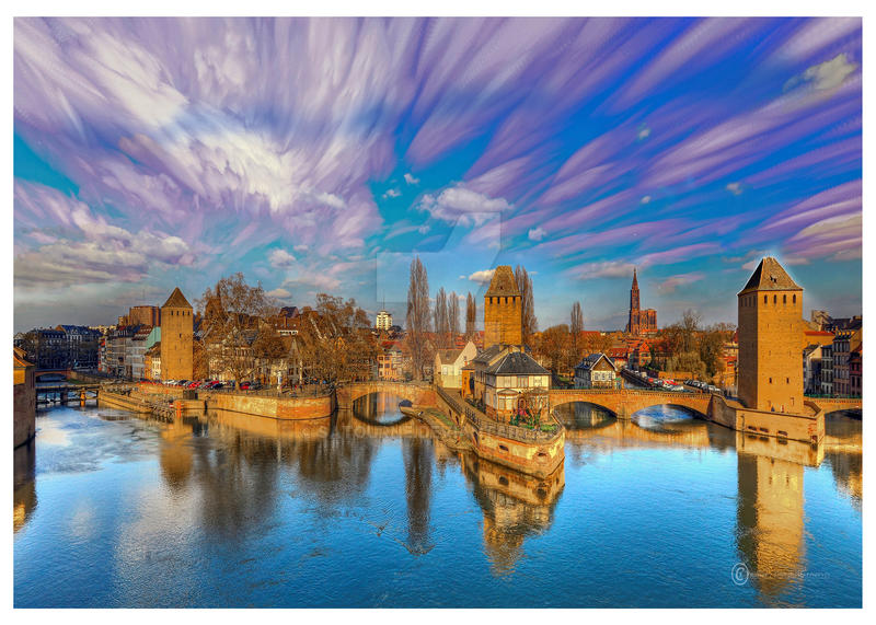 Time Stacking strasbourg by Satourne