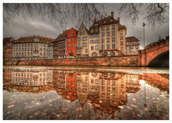 Strasbourg quai st Nicolas