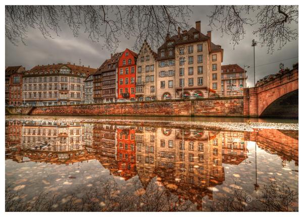 Strasbourg quai st Nicolas by Satourne