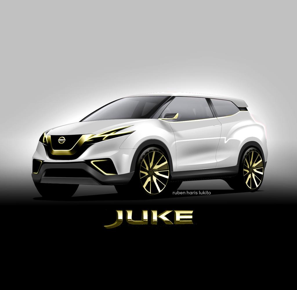 Nissan Juke 2016: Gold Edition By Geijutsutekinotenshi On