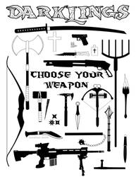 Choose Your Weapon by RavynSoul