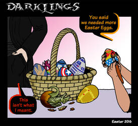 Darklings - Happy Easter 2016! by RavynSoul