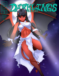 Darklings - Issue 5 cover by RavynSoul