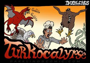 Darklings - Happy Turkey Day by RavynSoul