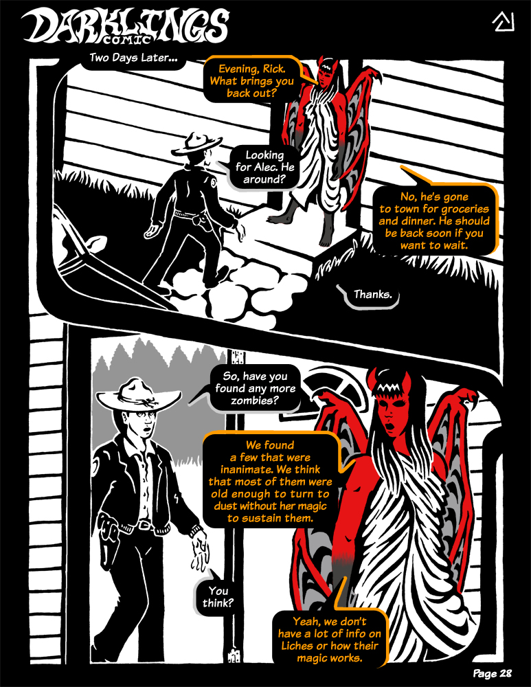 Darklings - Issue 5, Page 28 by RavynSoul