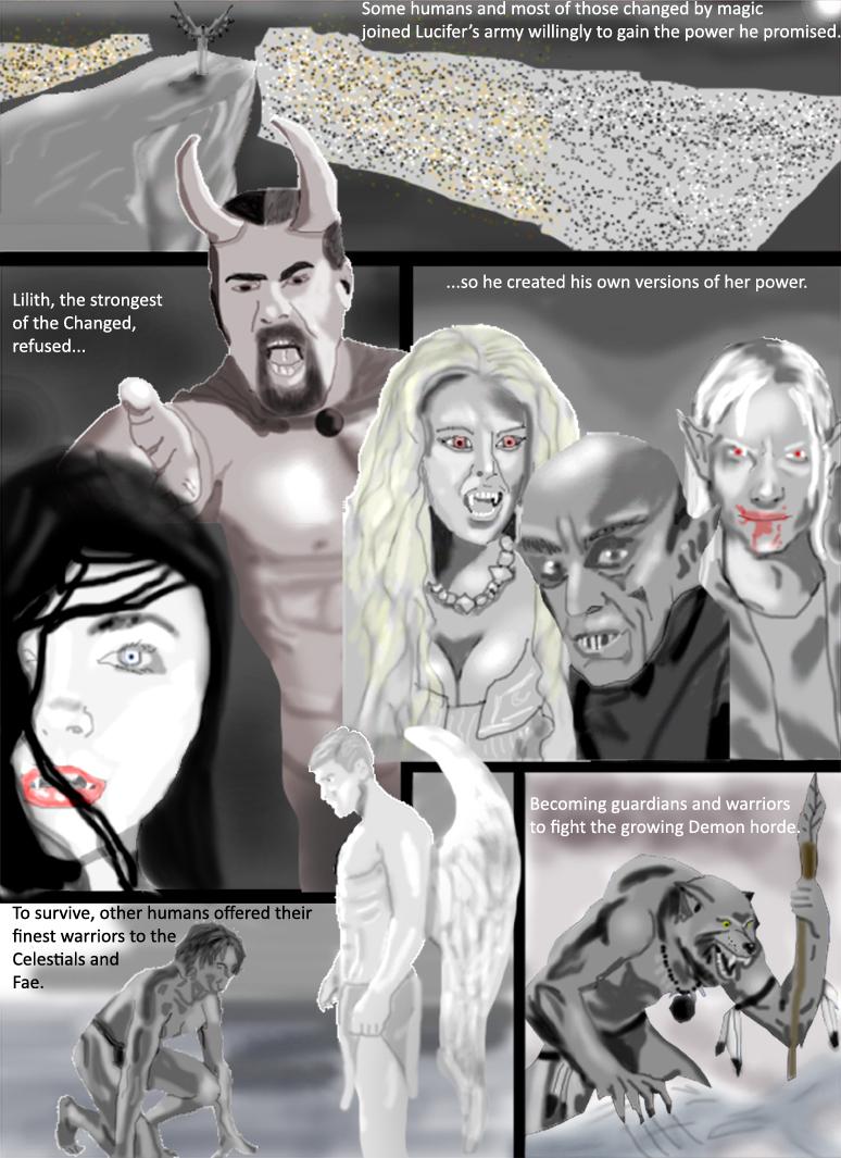 Darklings - Interval 3: The Celestial War, Part 3 by RavynSoul
