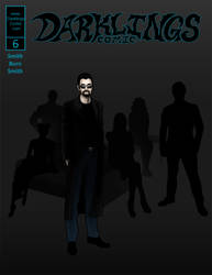 Darklings - Issue 6 Cover by RavynSoul