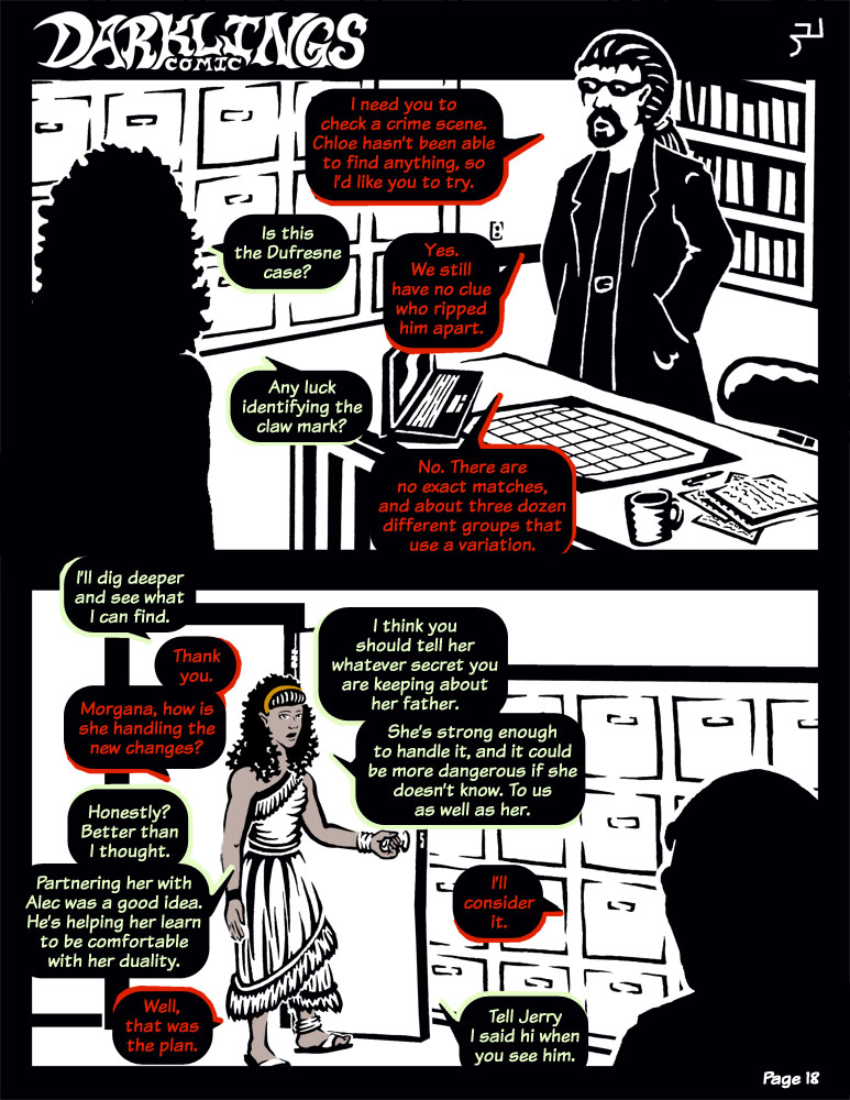 Darklings - Issue 6, Page 18 by RavynSoul