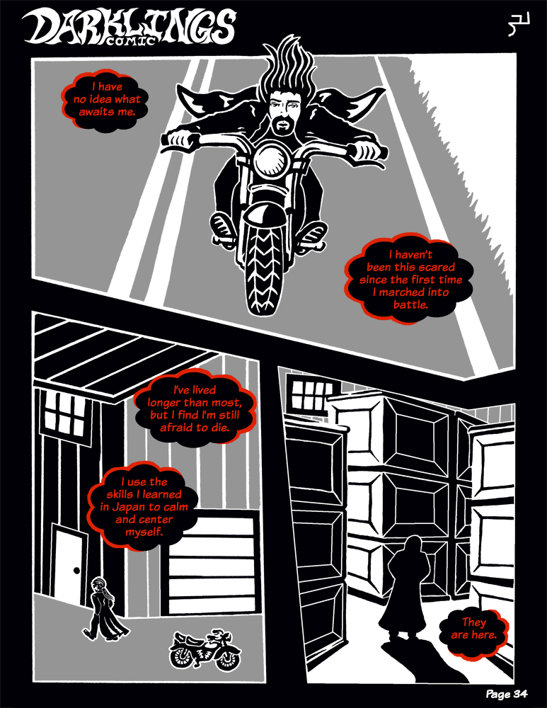 Darklings - Issue 6, Page 34 by RavynSoul