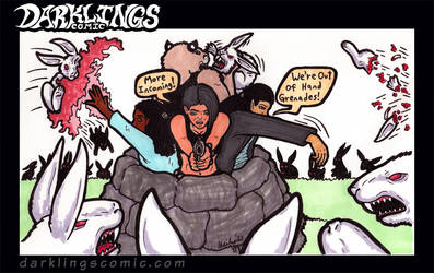 Darklings - Easter 2021 by RavynSoul