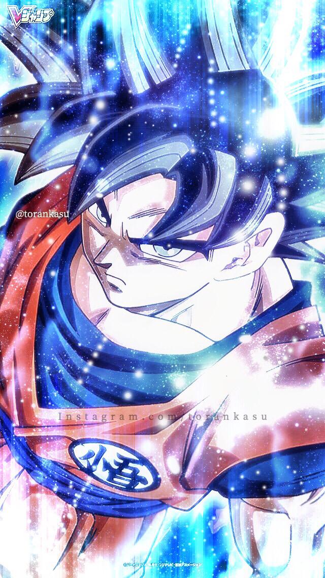 Goku Ultra Instinct - Wallpaper edit by