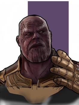 Thanos avengers infinity wars