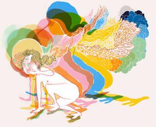 ponytail by trance-orange