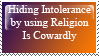 On using Religion by Persnicketese