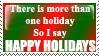 Happy Holidays by Persnicketese