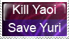 Save the Yuri by Persnicketese