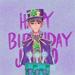Happy birthday jotaro!!!!