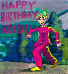 Happy Birthday Koichi!!!!!!