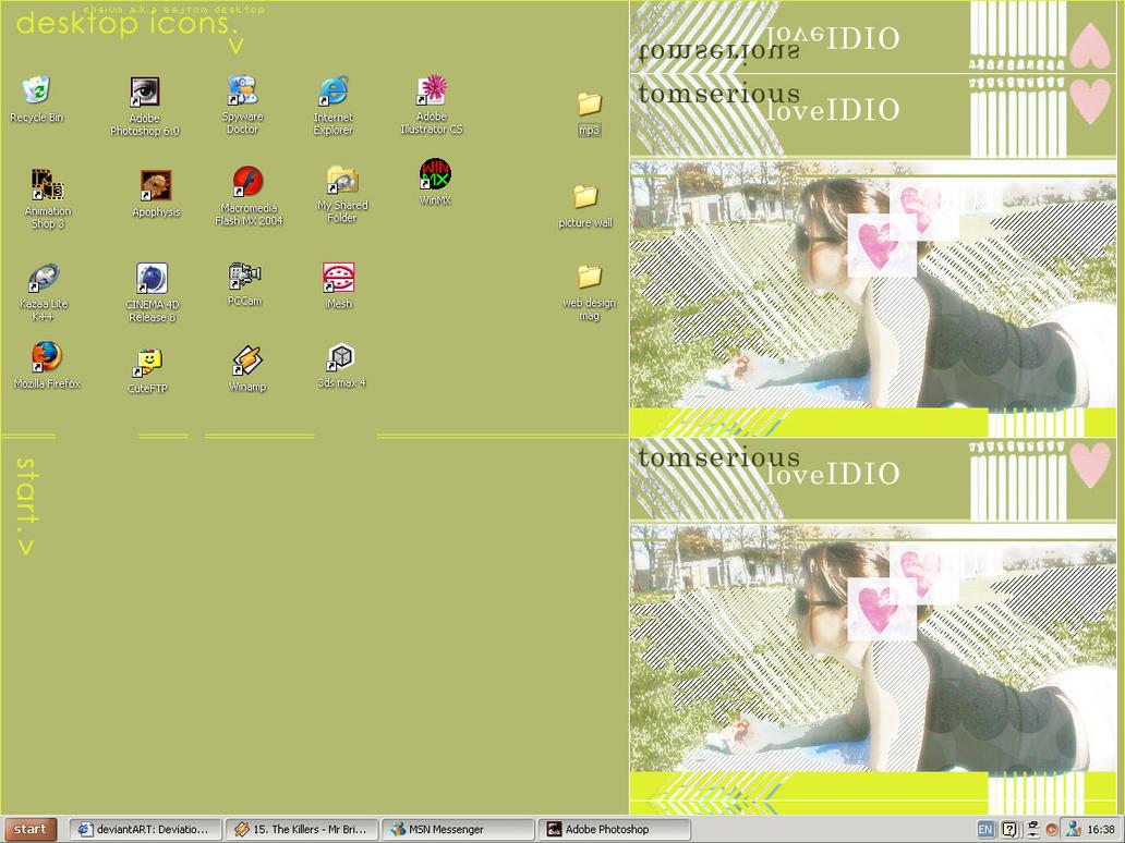 desktop my love by tomserious