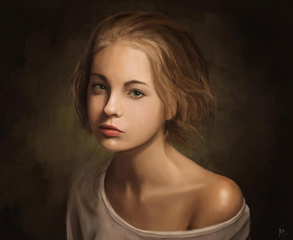Portrait by gromwulf