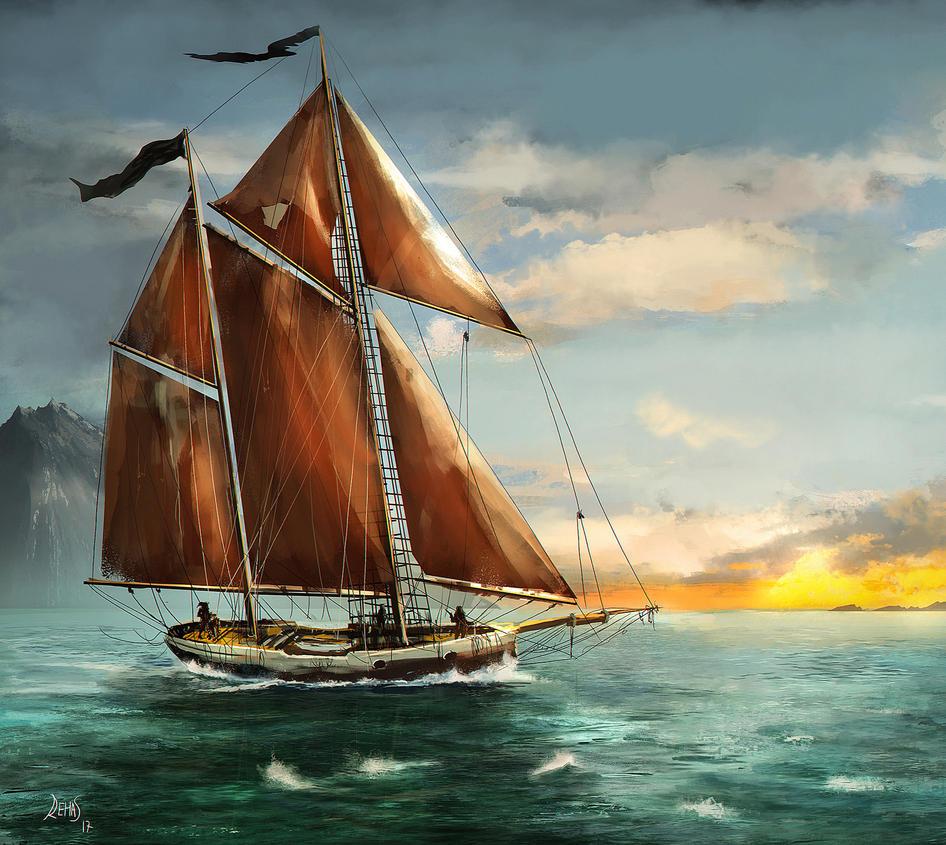 I am sailing by gromwulf