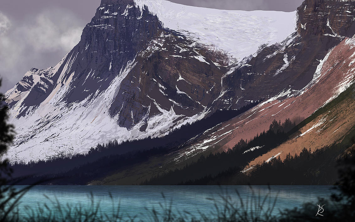 Mountains by gromwulf