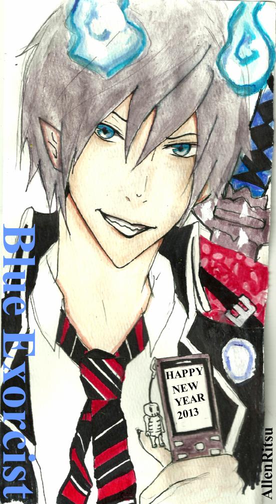 happy new year by AllenRitsu