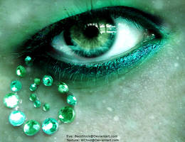 Eye of a Mermaid by Purplequine