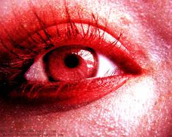 Red Eye by Purplequine
