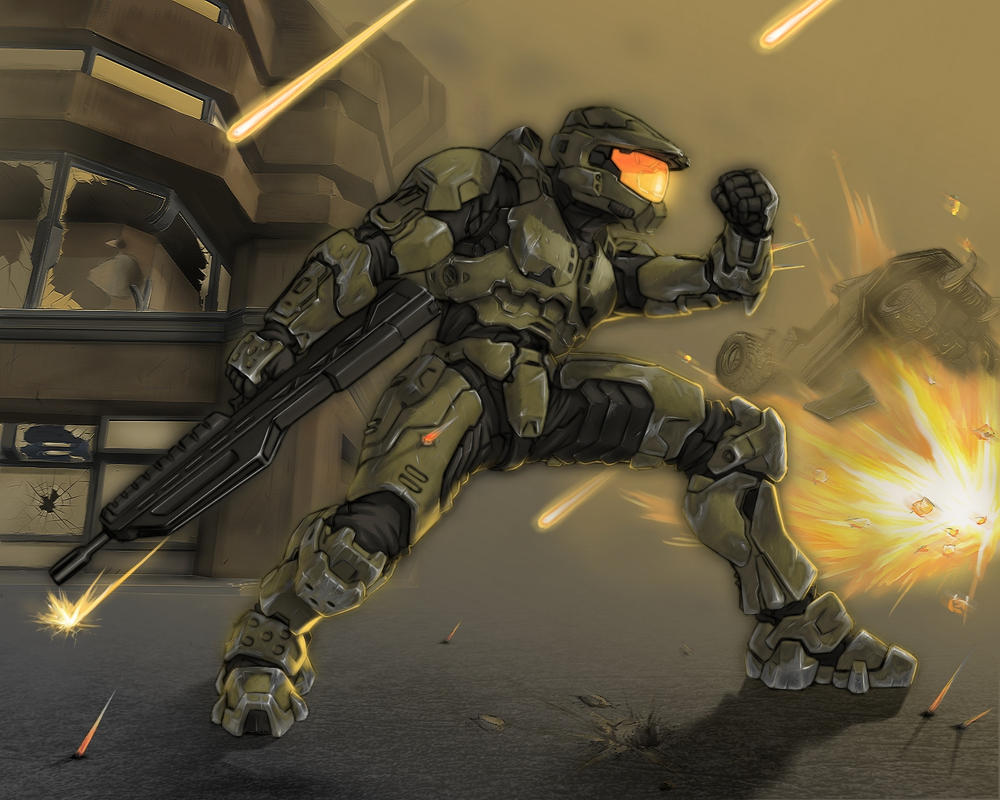 Master Chief by utilizator