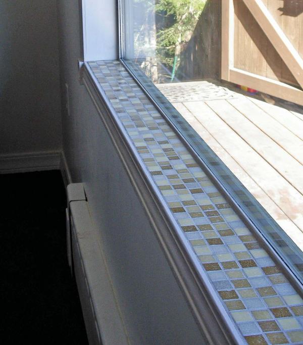 Mosaic tile window sill 1 by sandevolver on deviantart