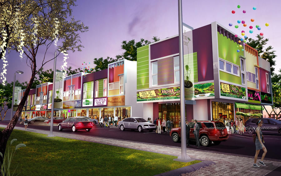 Bintara shophouse 01 by vad endz on deviantart House shopping