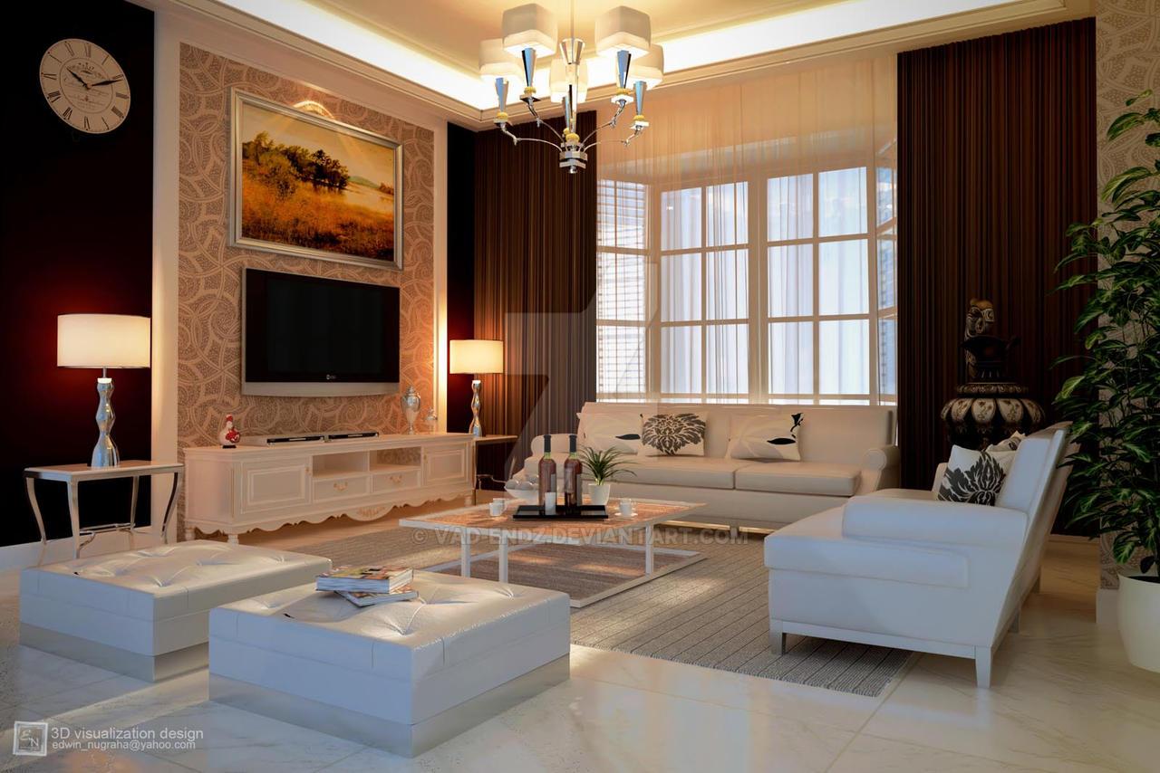 Townhouse Living Room by vaD-Endz on DeviantArt