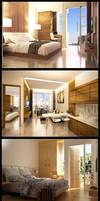 Interior Hotel D'Golfer