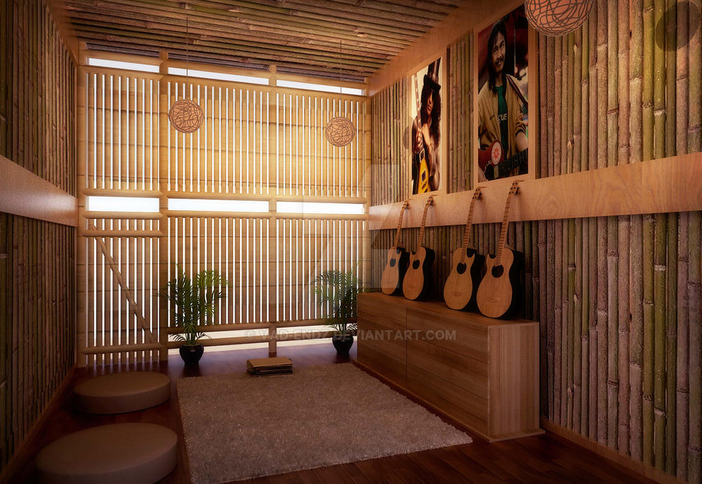 Traditional Music Room by vaD-Endz