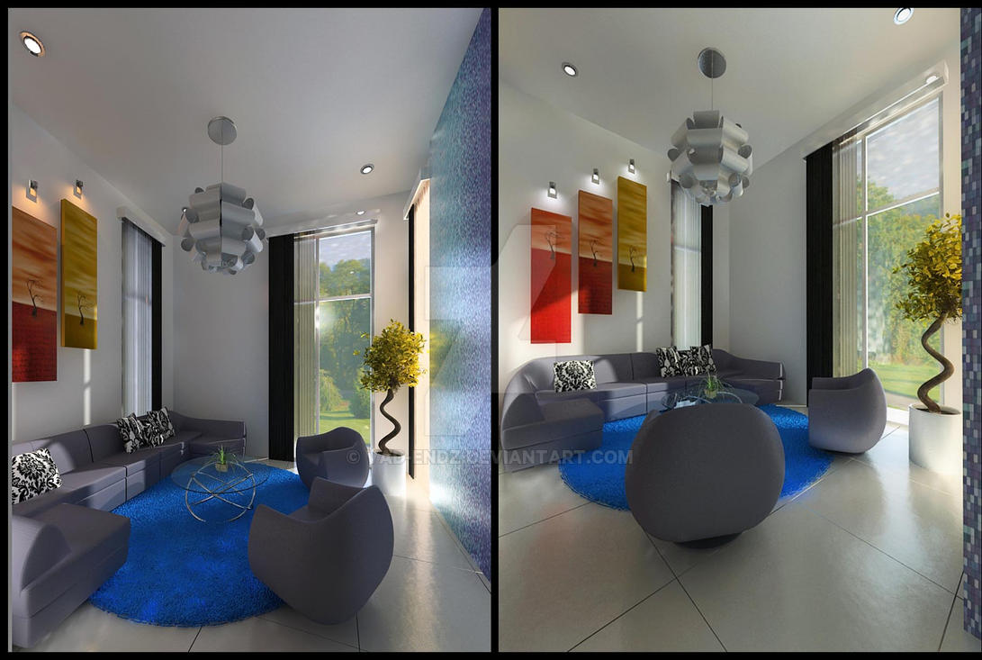Green Cove BSD interior_guest room by vaD-Endz