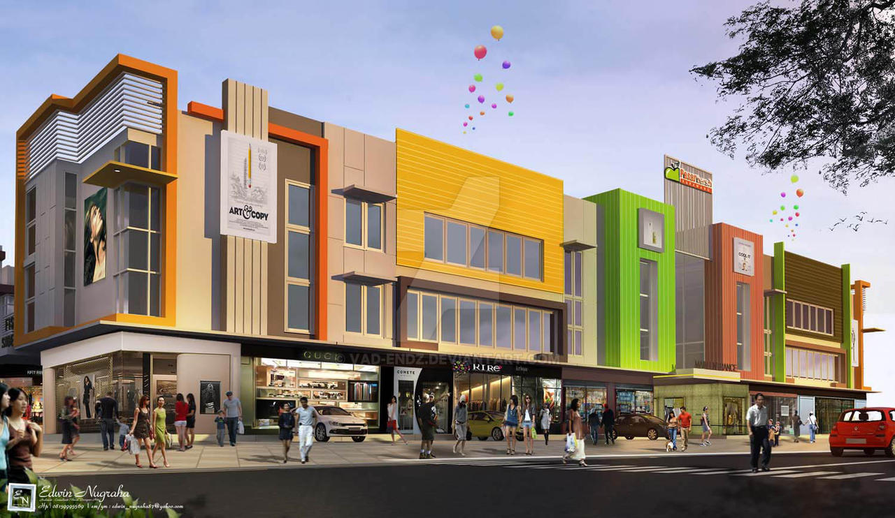 ... design work architectural visualization exterior design software use