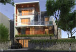 Private House at Nusa Dua Ancol_front View