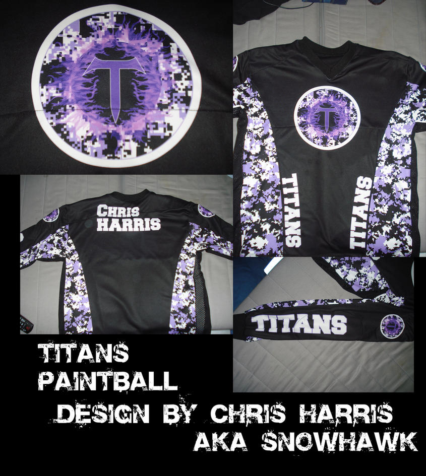 Titans Paintball by Snohawk