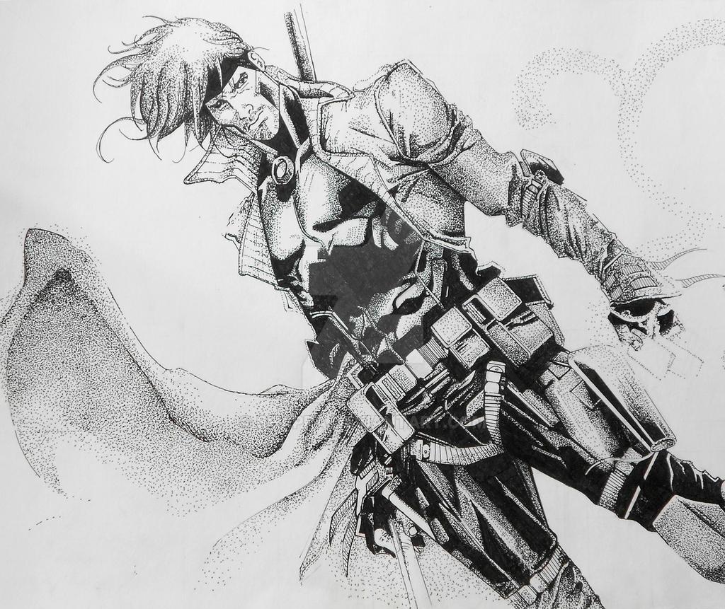 gambit- x-men by bhappa