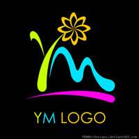 YM LOGO [On Black]