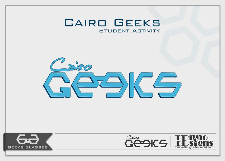 ' Cairo Geeks ' Logo
