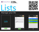 Lists QR Code [Windows Phone App]
